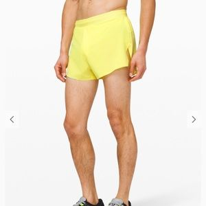 """Lululemon fast and free short 3"""" lined"""